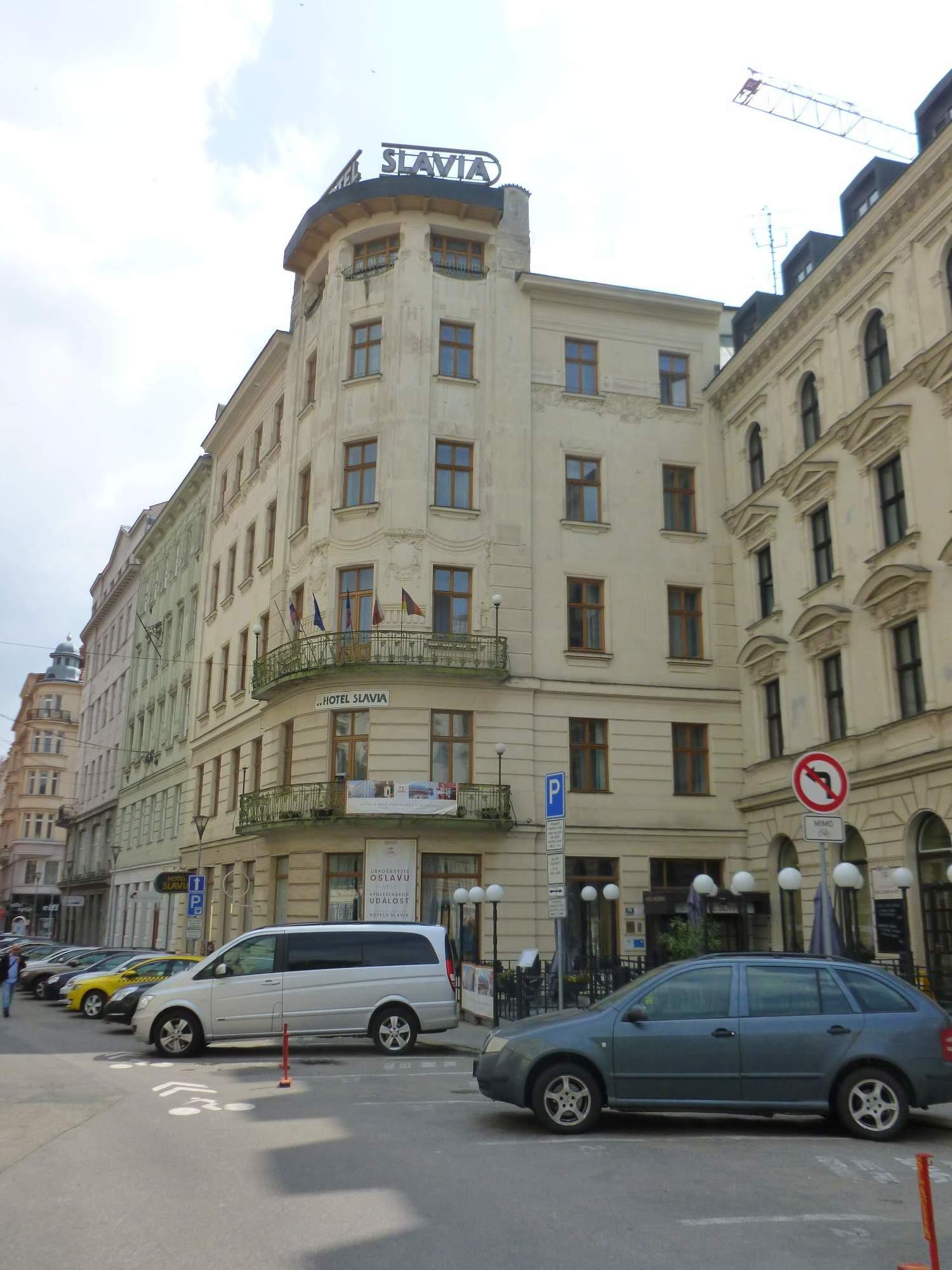 Mezi nejlepší brněnské hotely patřil hotel Slavia, který byl otevřen na konci devatenáctého století. Foto: Kristýna Hortvíková