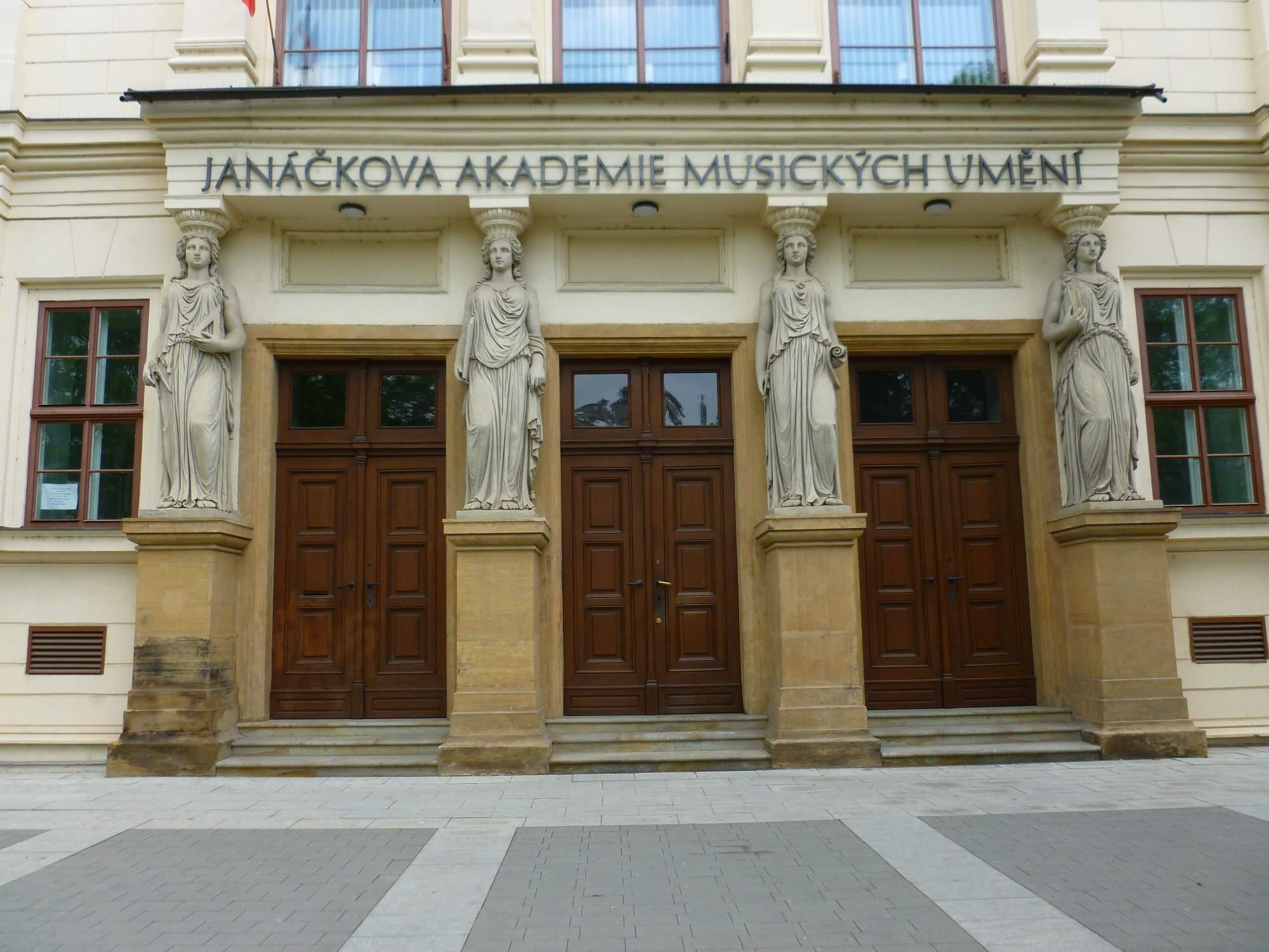 Janáčkova akademie musických umění bývala původně německým gymnáziem. Foto: Kristýna Hortvíková