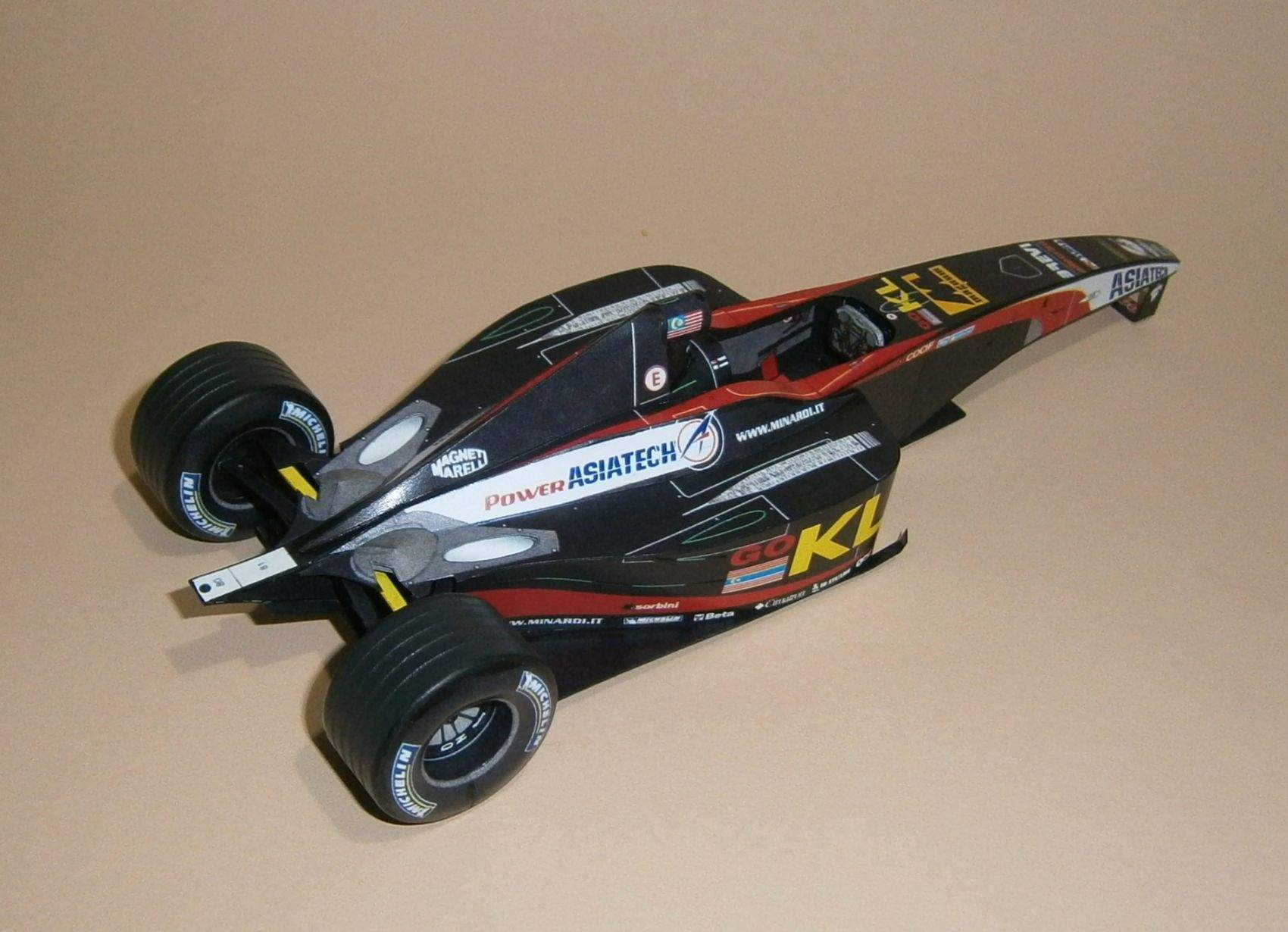 Minardi PS02 - A. Yoong - 2002