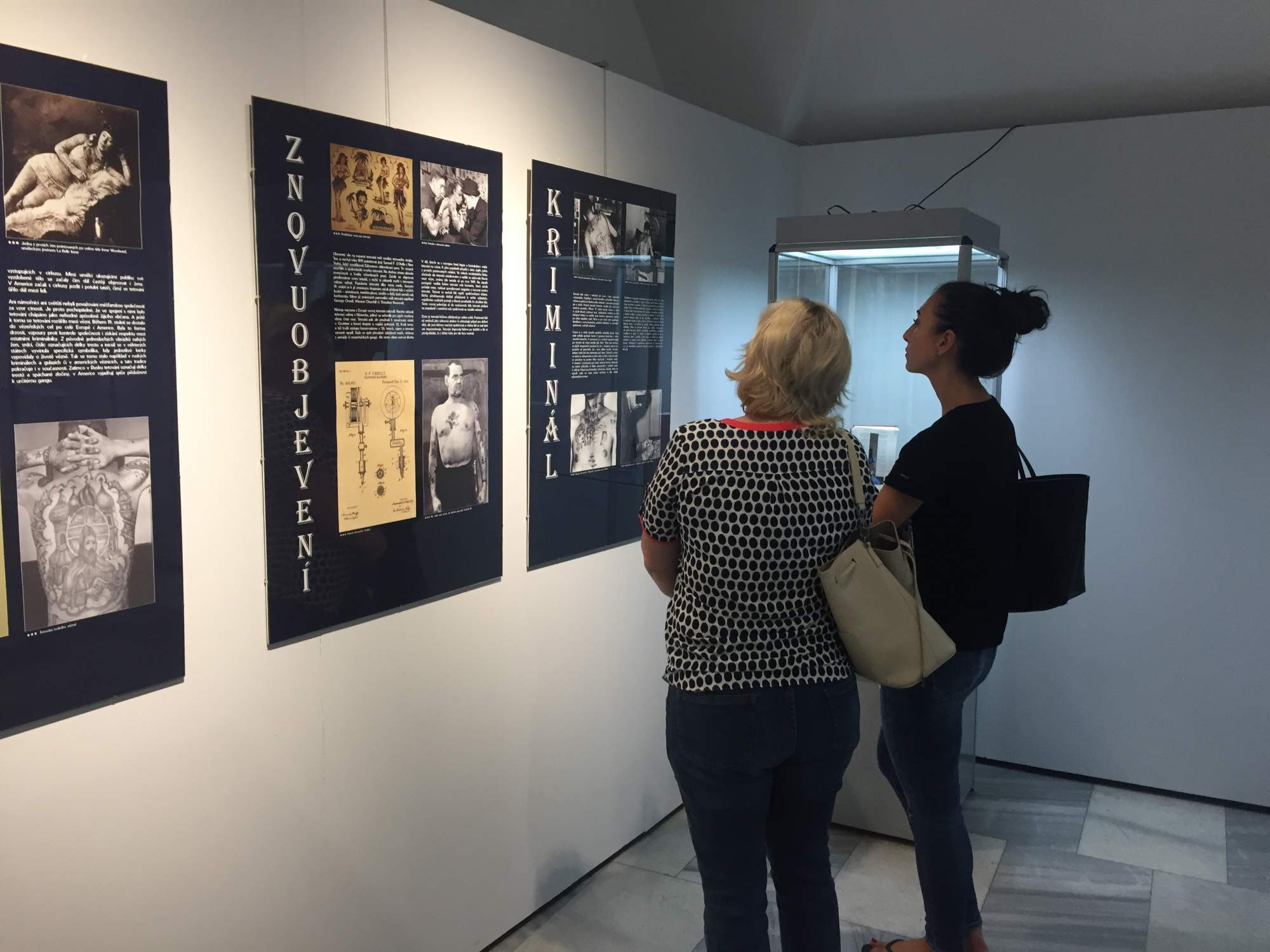 Výstava Tattoo v prostorech Vsetínského zámku