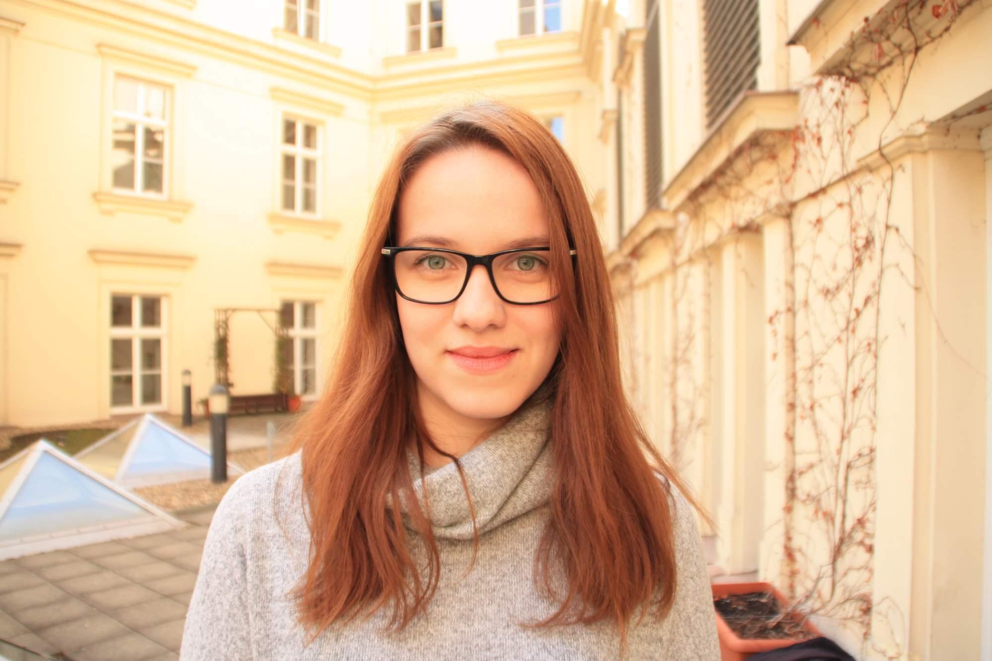 Autorka textu Dominika Vrbecká, studentka Masarykovy univerzity v Brně. Foto: Martina Paulenová