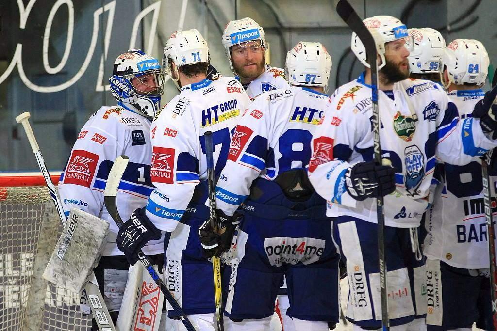 Hokejisti Komety Brno sú po výhre v Hradci blízko finále. Foto: Michal Eger