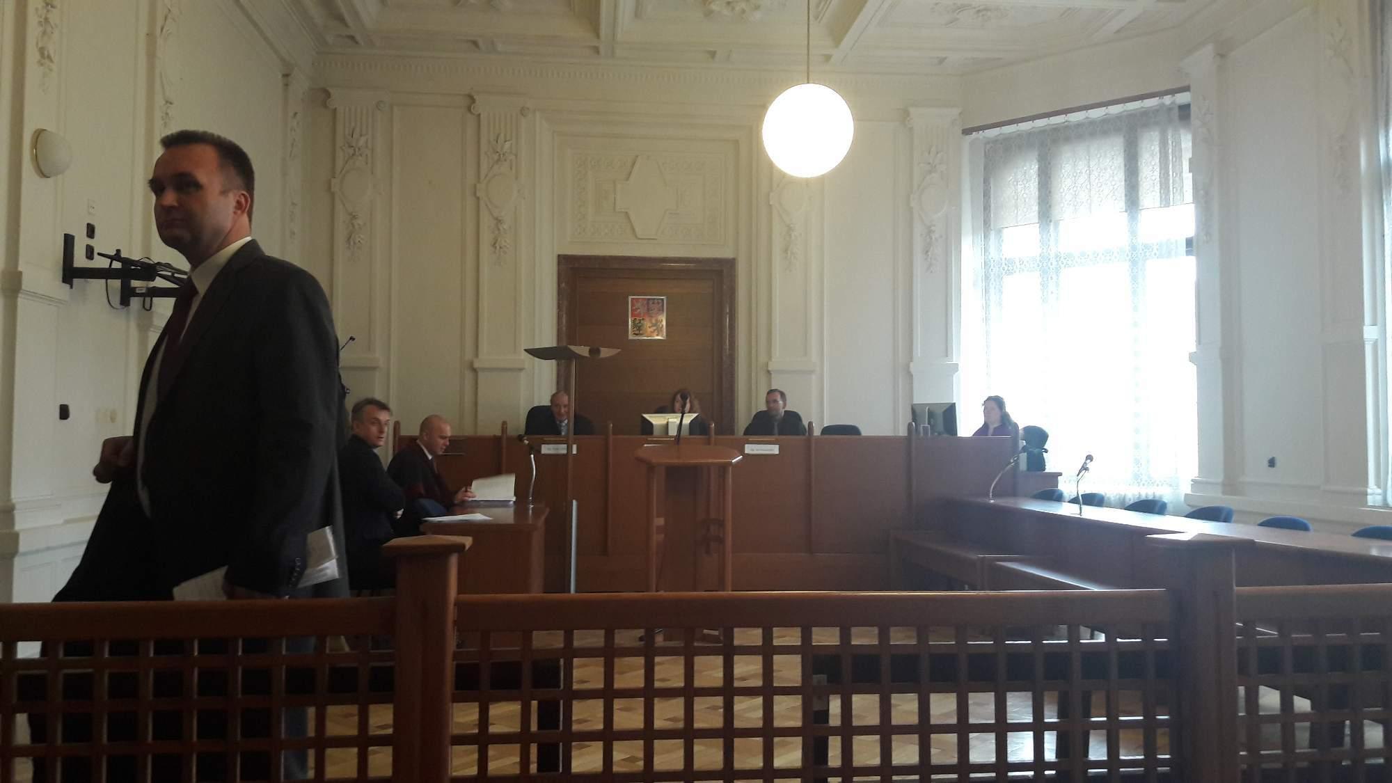 Obžalovaný Miloslav Machalouš v případu solární elektrárny v Krupce na Teplicku. / Autor: Tereza Hálová