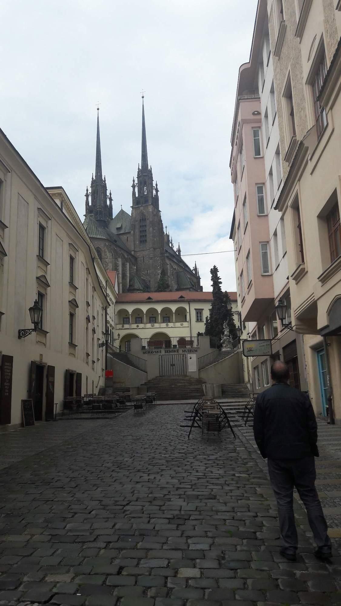Katedrála sv. Petra a Pavla na Petrově je dominantou města Brna. FOTO: Tereza Hálová