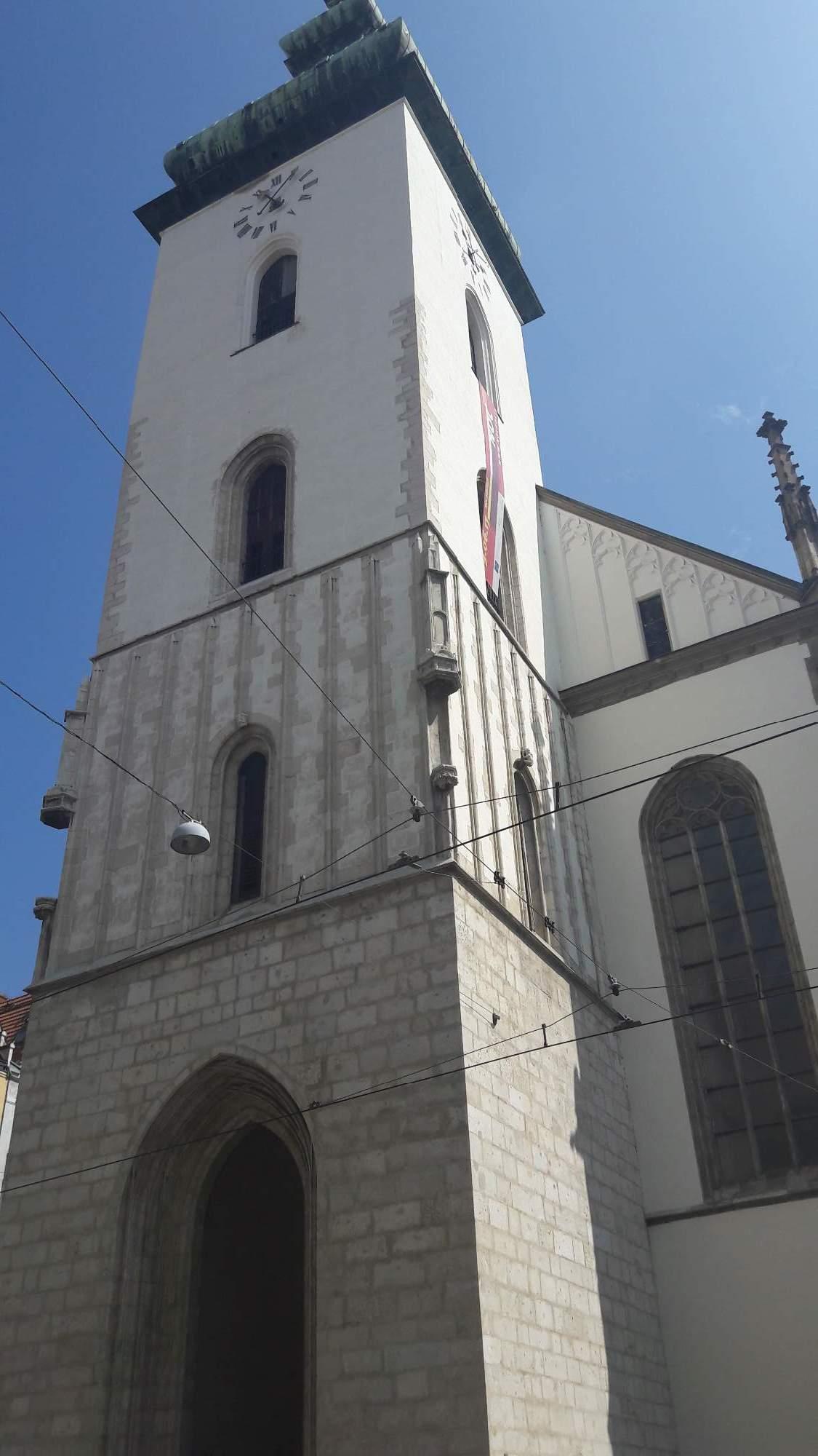 Kostel sv. Jakuba je pozdně gotickou stavbou. FOTO: Tereza Hálová