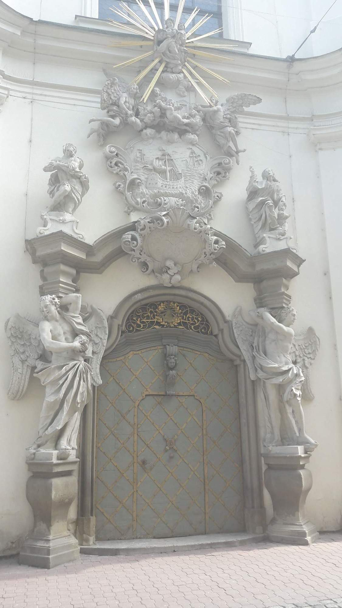 Kostel Panny Marie Loretánské se nazývá Loretou. FOTO: Tereza Hálová