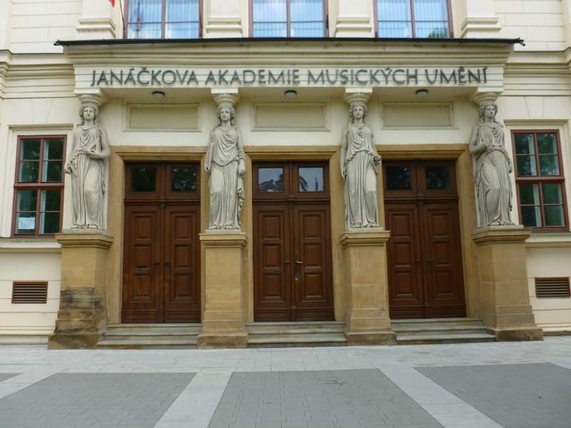 Janáčkova akademie múzických umění v Brně. / Foto: Kristýna Hortvíková
