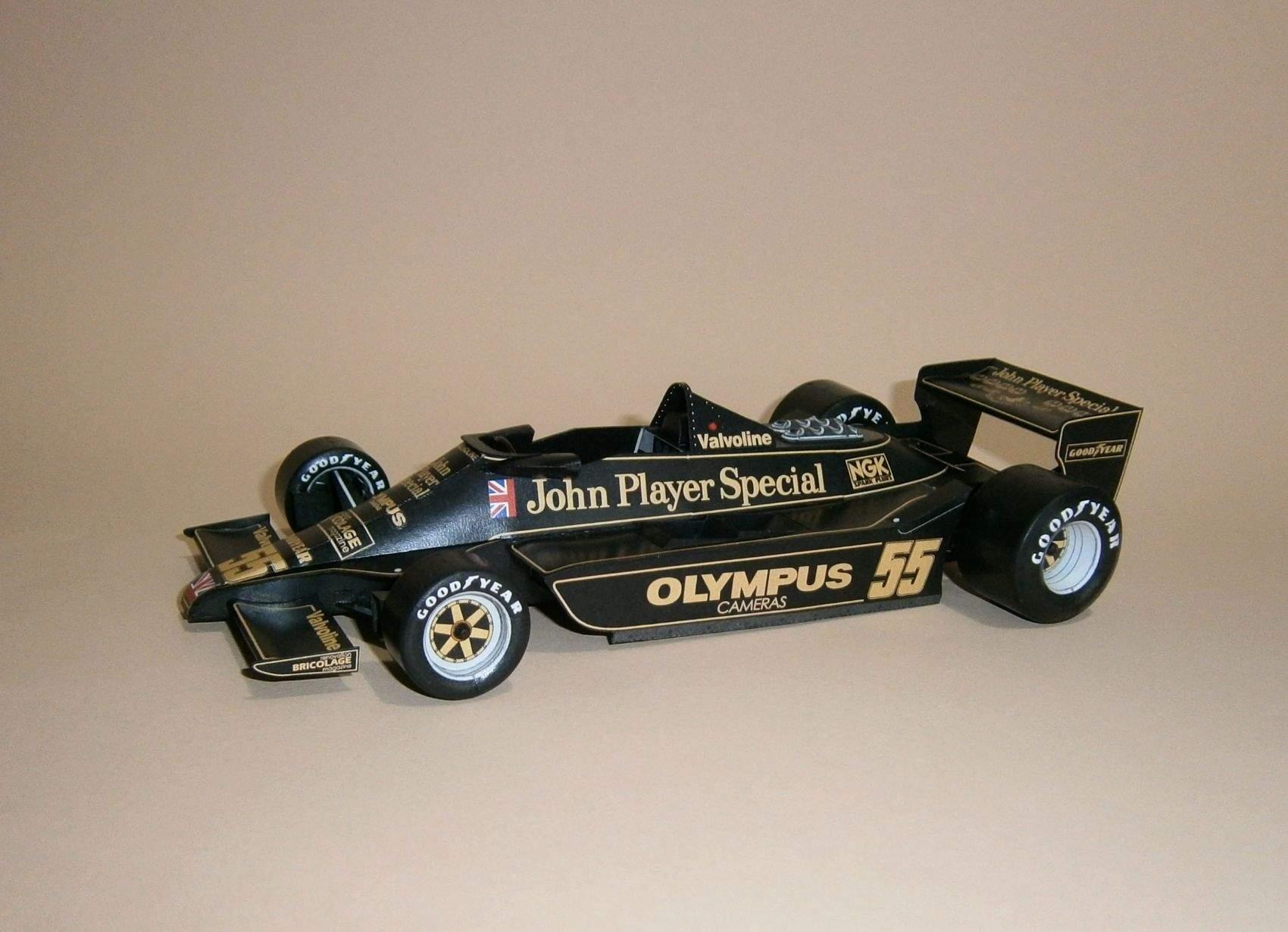Lotus 79 - J.P.Jarier, GP Canadian 1978