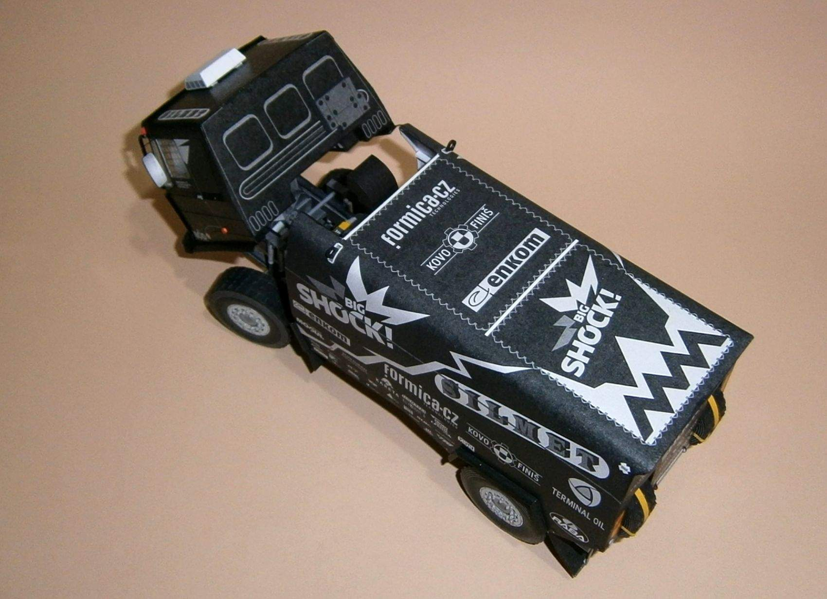 LIAZ Dakar 2017 Black version
