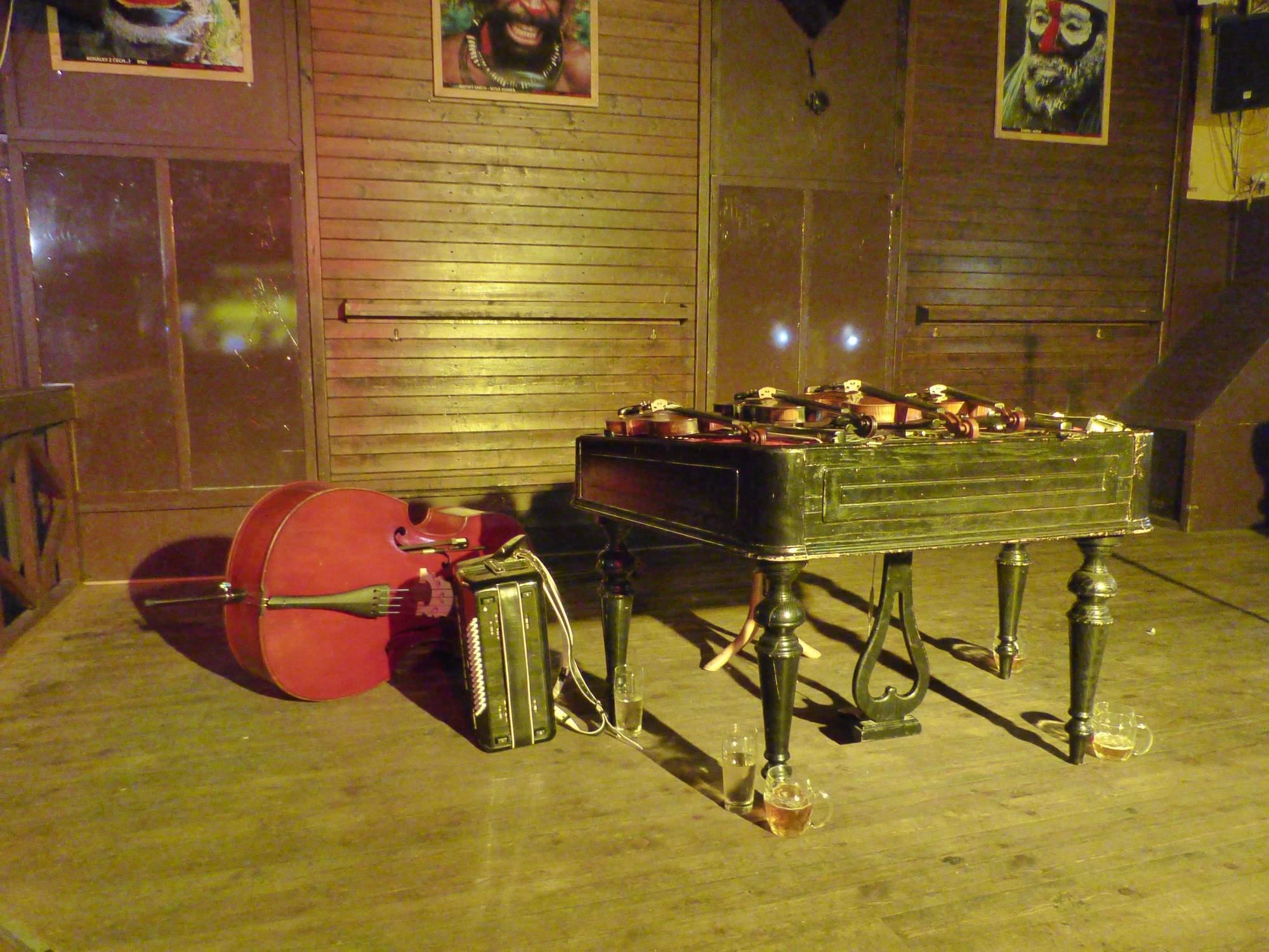Hudobné nástroje Poľany. Foto: Vanesa Čierna