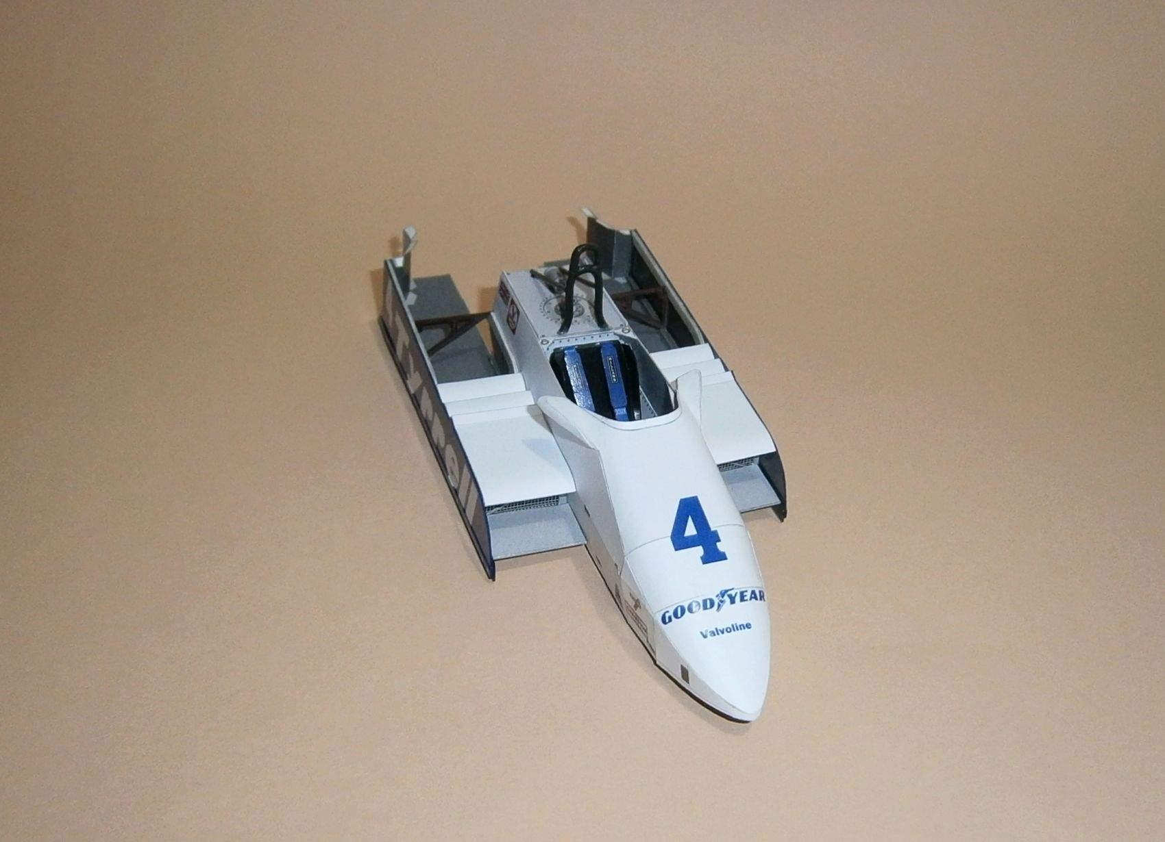 Tyrrell 011 - S.Borgudd, VC Kyalami 1982