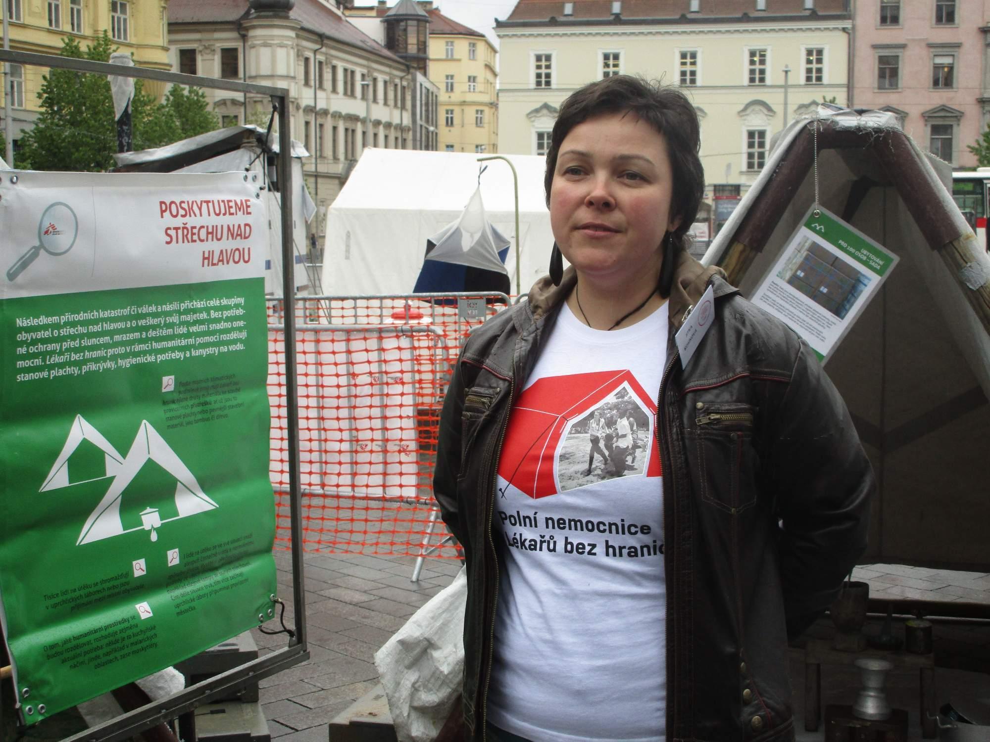 Jitka Kosíková pracuje v organizaci Lékaři bez hranic už sedm let. Foto: Dominika Sladká