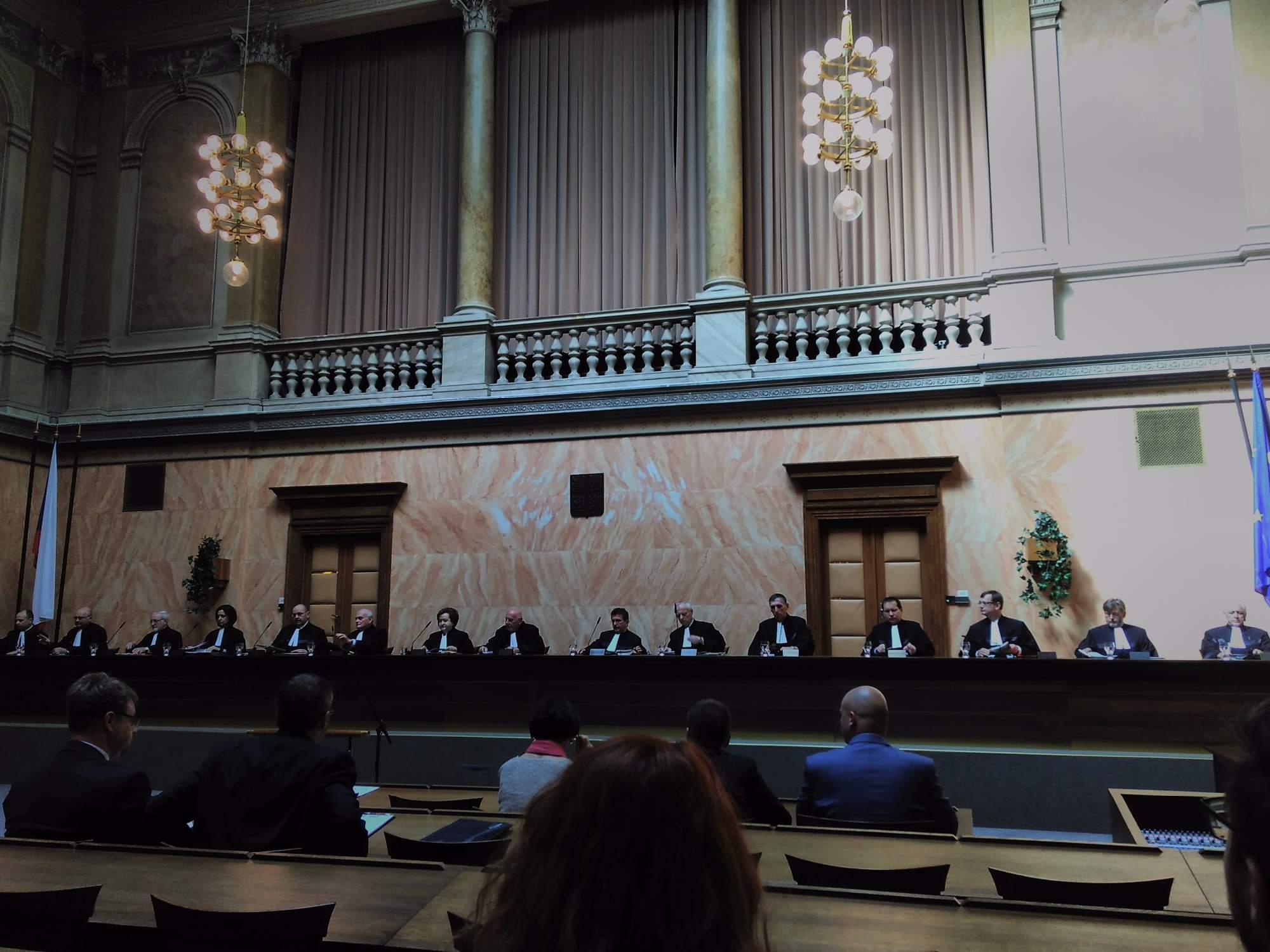 Soudci Ústavního soudu. Foto: Stanislav Šindelka