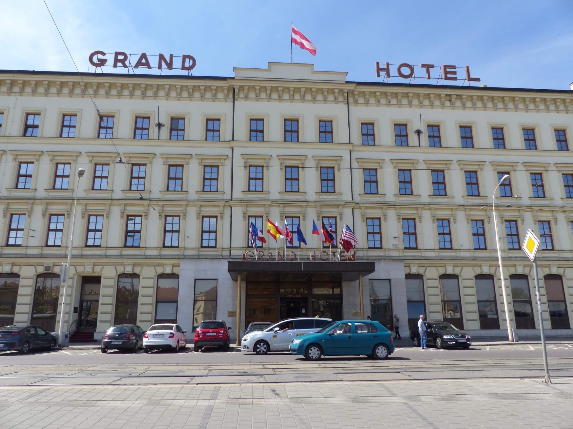 Grandhotel Brno. Foto: Stanislav Šindelka