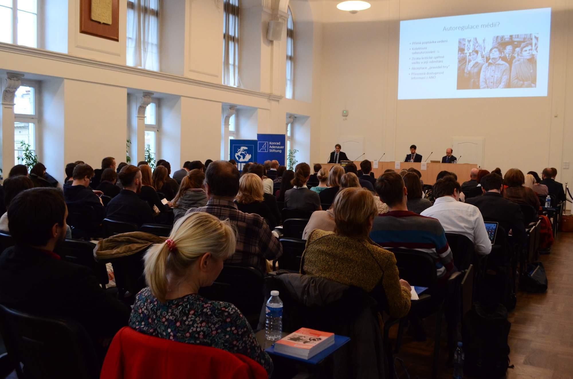 Konference Regulace médií
