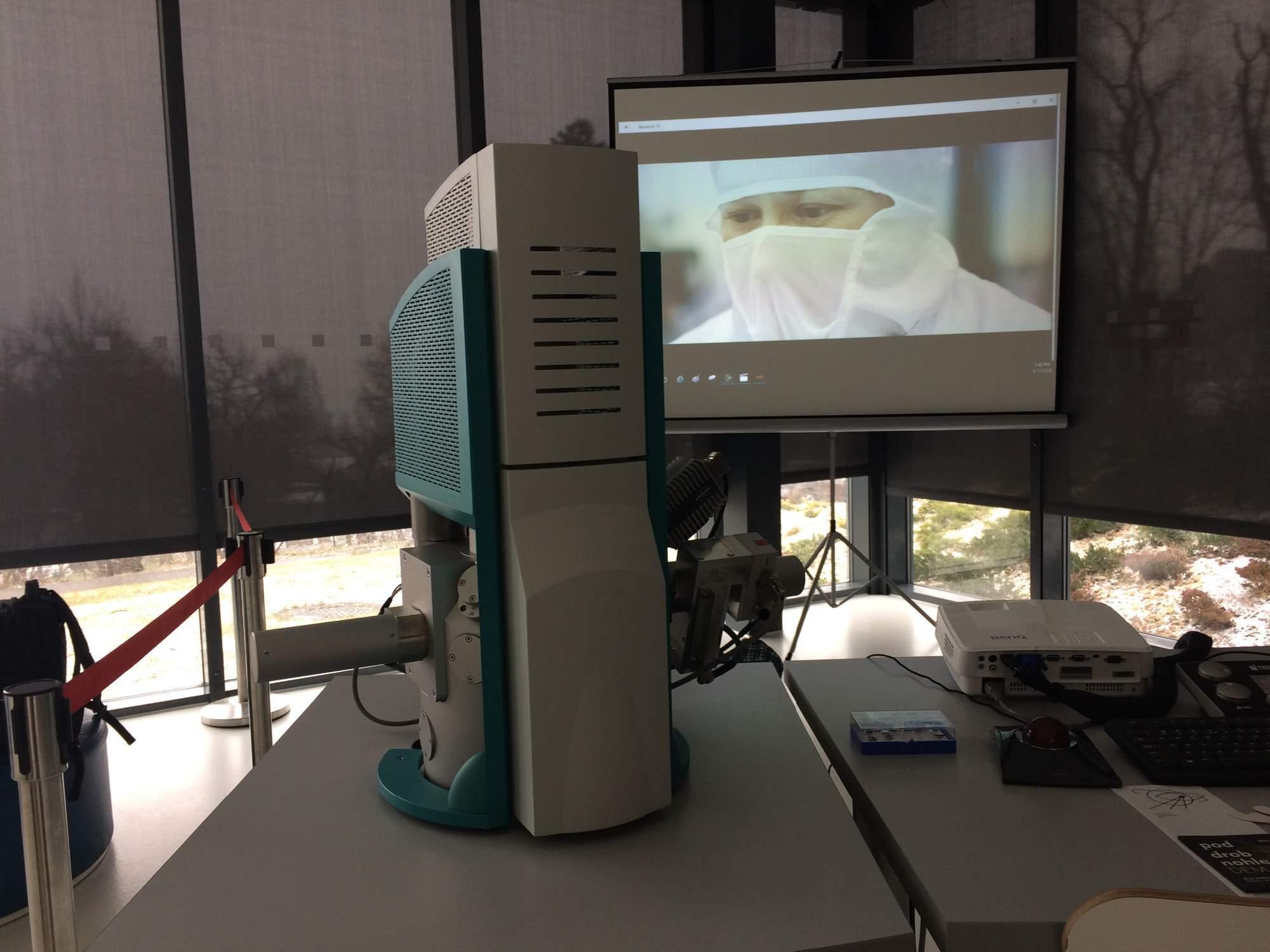 Elektrónový mikroskop