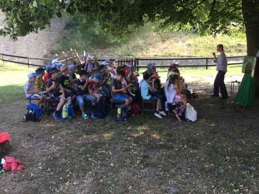 Školní výlet hrad Helfštýn 1.,2. třída