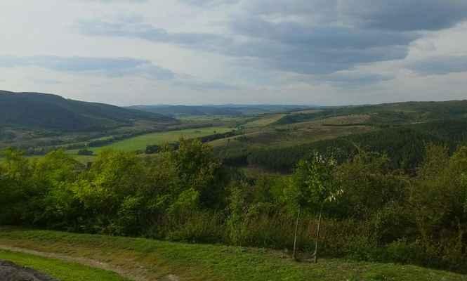 sever maďarska není tak placatý...