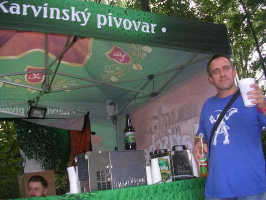 Larische 11° z Karvinského pivovaru, Albrechtický beerfest