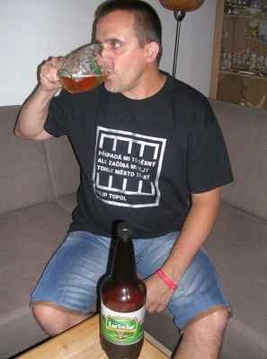 Larische 11° světlý ležák - Karvinský pivovar
