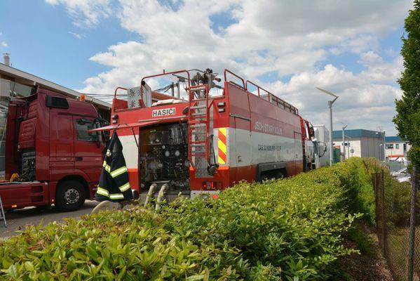 Výcvik v plynovém kontejneru