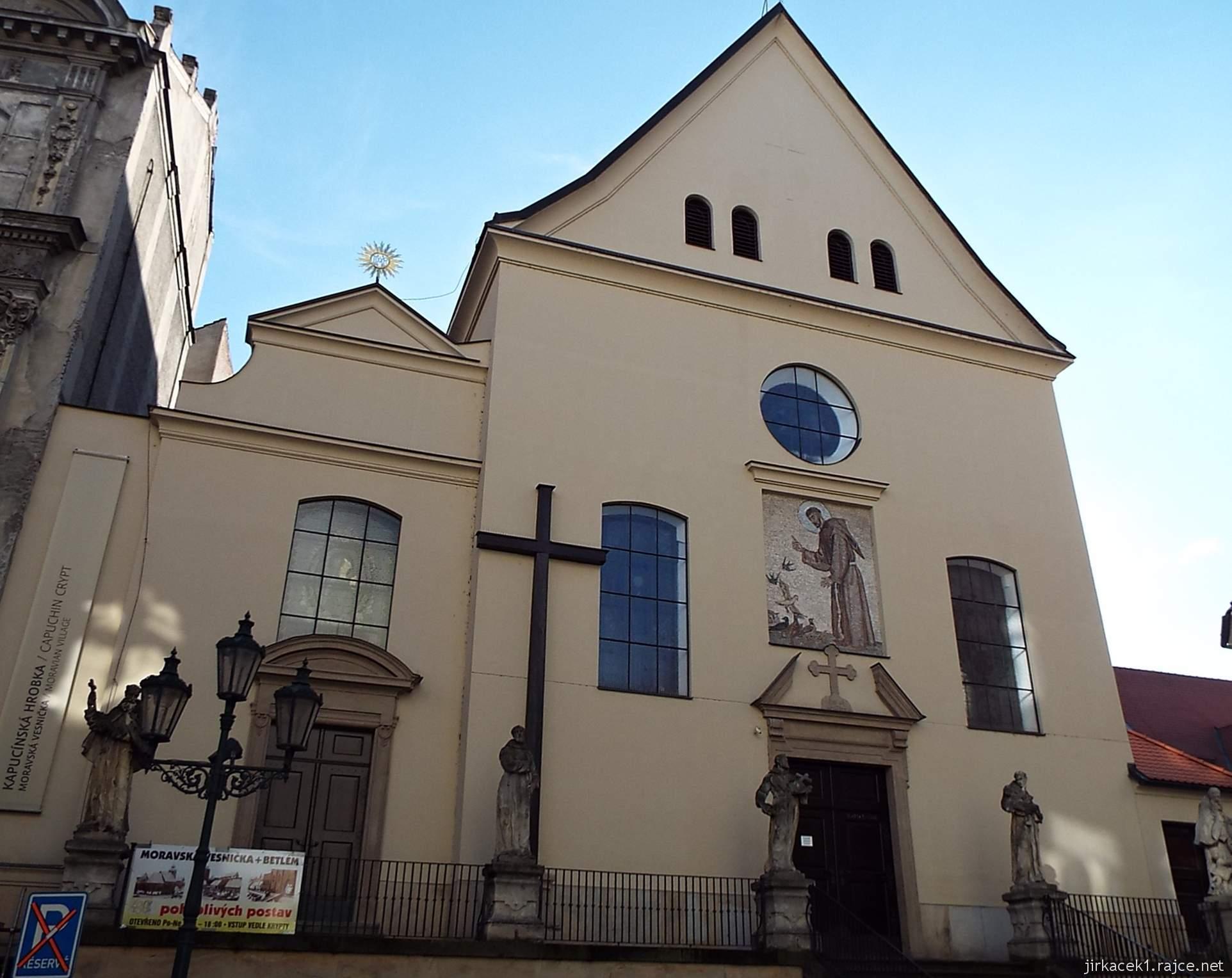 Brno - Kostel Nalezení sv. Kříže a kapucínská hrobka