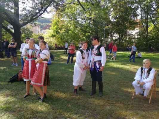 Dozvuky Horňáckých slavností na pražské Kampě s hostováním Blatnice pod Sv. Antonínkem 21.9.2019
