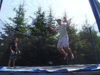 hop hop a skok - Tomináč na trampošce