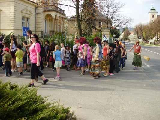 Čarodějnice duben 2013