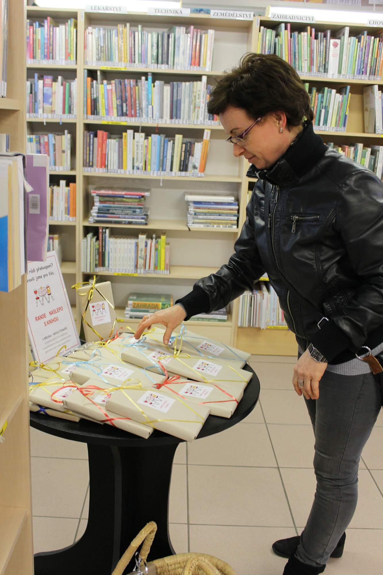 Bystice pod Hostnem, Rande naslepo s knihou, bezn 2017