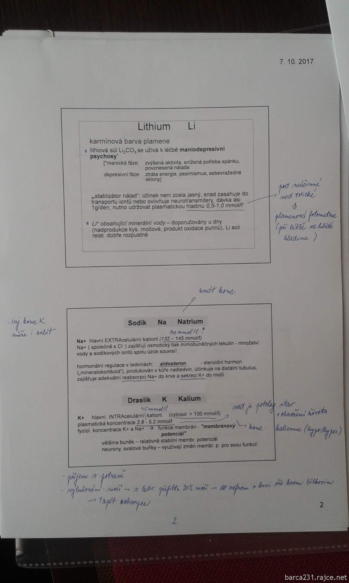 Chemie Prednasky I Ii Barca231 Album Na Rajceti