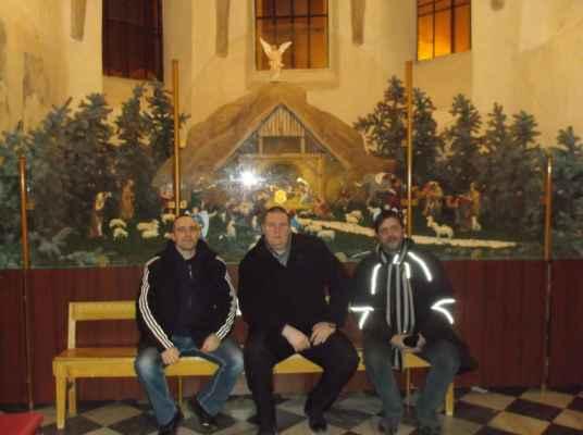 Nádherný betlém v kostele Povýšení svatého kříže v Karviné-Fryštátě.