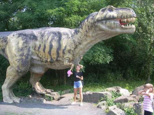 Dinopark Ostrava (Doubrava).