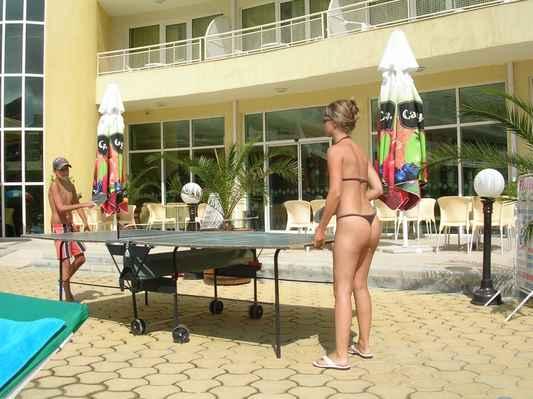 Slunečné pobřeží, hotel Wela, Bulharsko.