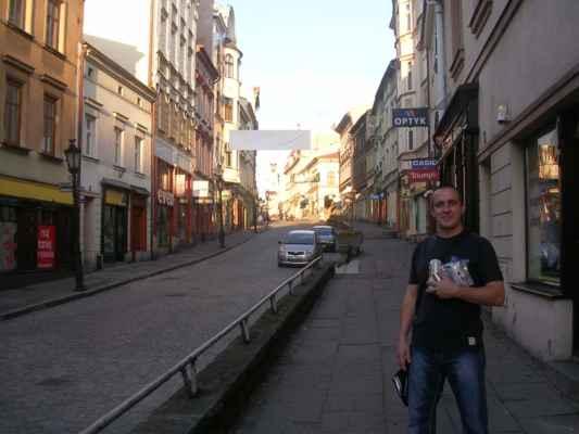 Cieszyn - moje oblíbené město. Z výletu musím, kromě sladkostí, přitáhnout i místní pivíčka.