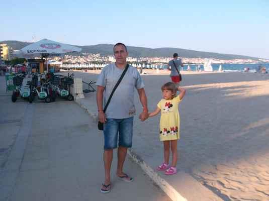 Naše osudové a oblíbené Slunečné pobřeží v Bulharsku.