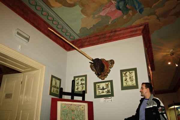 V Těšínském muzeu (bývalý Larischův palác) mají roh jednorožce..., ale je to FAKE - jednorožec je přece pohádkové zvíře - neexistuje !