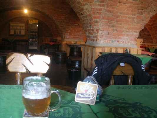Fryštátská pivnice Na bečkách, Karviná - Fryštát