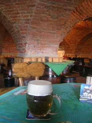 Fryštátský ležák ZELENÁ 11° SVATÝ PATRIK, uvařený na počest sv. Patrika, poněvač jeden z historických majitelů Fryštátu  Hrabě Taaf byl Ir.