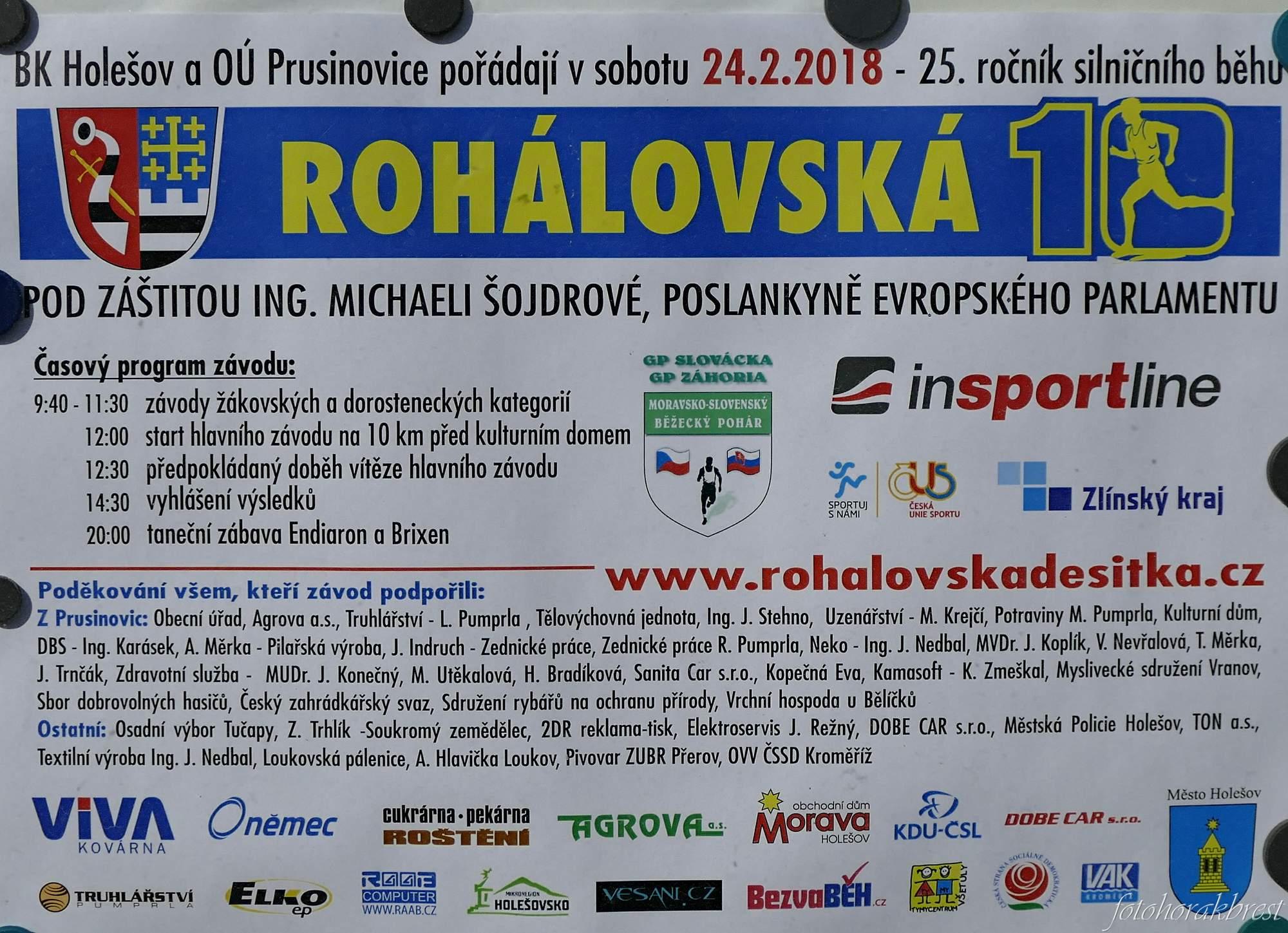 e630cafd90d ROHÁLOVSKÁ DESÍTKA-Prusinovice - 2018 – Jiří Horák – album na Rajčeti