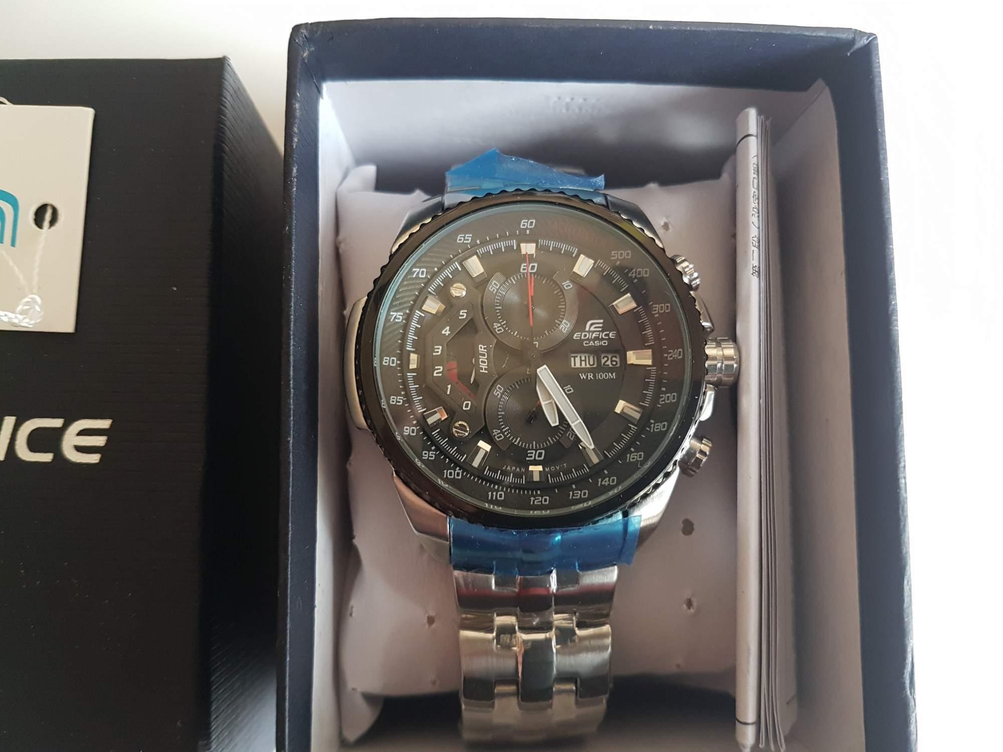 Hodinky Casio Edifice Chronograph EF-558D-1AV - aukce online - auktiva 466c949e97