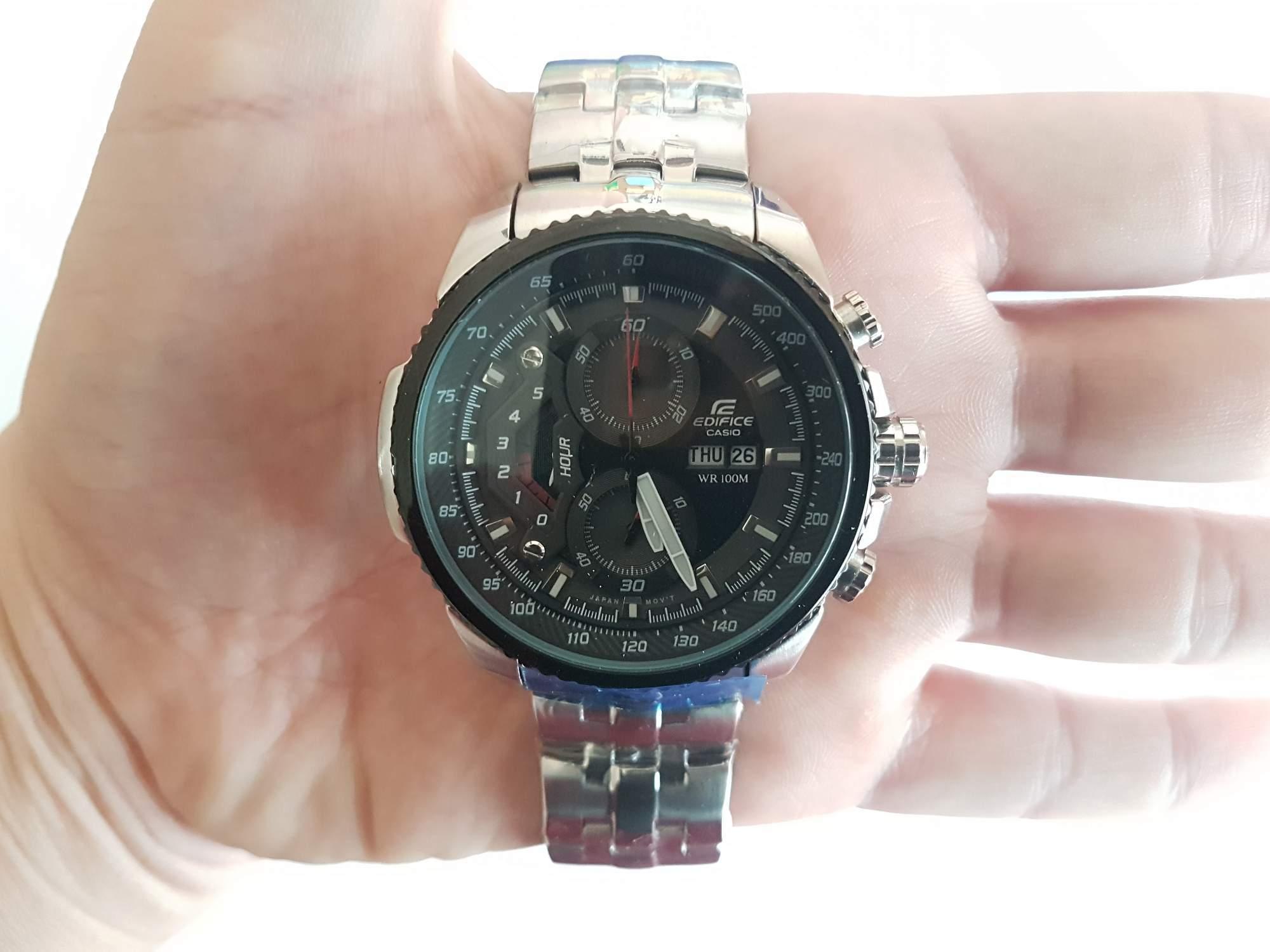 Hodinky Casio Edifice Chronograph EF-558D-1AV - aukce online - auktiva be49c2ea58