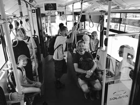 trolejbusem na JIžní Svahy