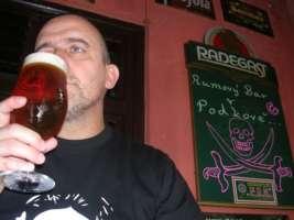 Beránek IPL 14°, Velké Březno - PODKOVA Karviná - India Pale Lager, spodně kvašené pivko, které chutná jako ALE.