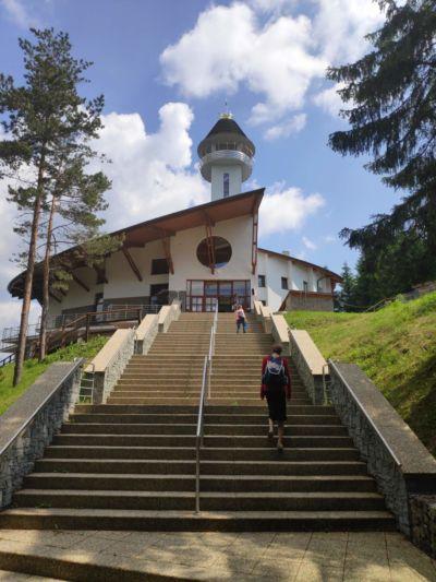 Kostel Panny Marie Matky Církve na Živčákové