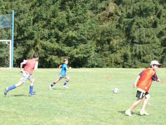 První trénink - V neděli dopoledne byl na programu první trénink