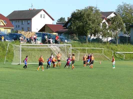 Žáci v Bělčicích - Přátelský zápas žáků v Bělčicích, který jsme prohráli 6:7. Šance našich hráčů