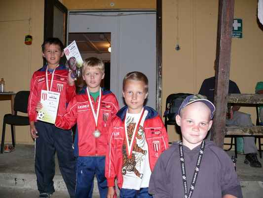 Medailisté ve skoku do dálky - Medailisté ve skoku do dálky - nejmladší kategorie