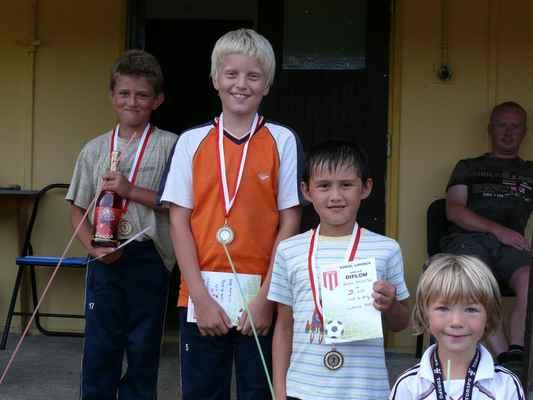 Medailisté v hodu do dálky - Medailisté v hodu do dálky - nejmladší kategorie