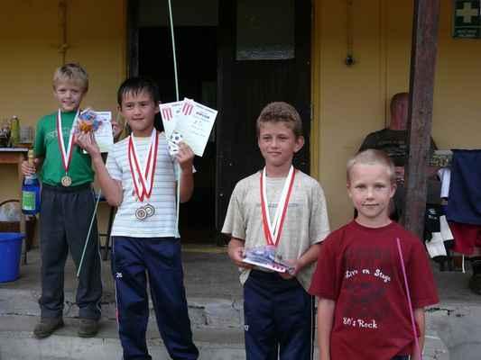 Medailisté ve sprintu - Medailisté ve sprintu - nejmladší kategorie